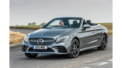 Mercedes-Benz C-Class Cabriolet C 200 AMG Line 9G-Tronic Plus (06/2018 on) 2d