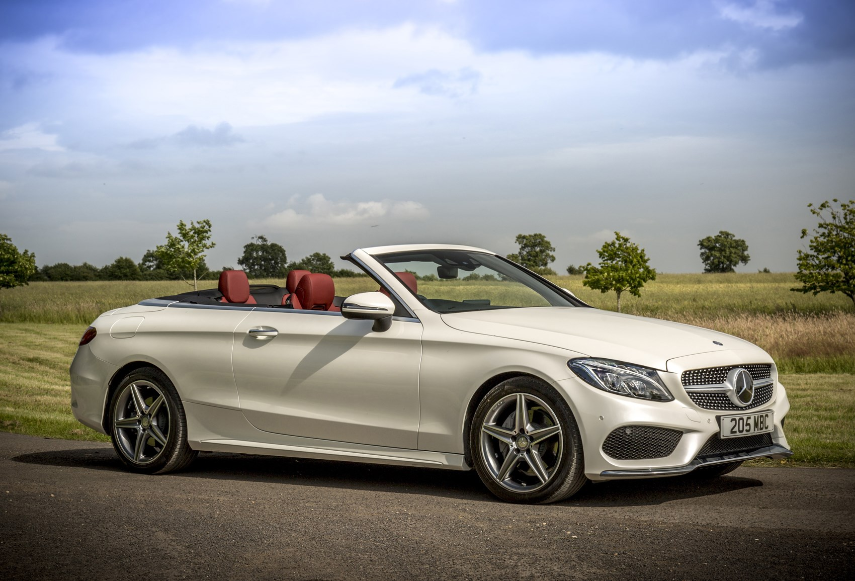 mercedes benz c class cabriolet 2016 photos parkers. Black Bedroom Furniture Sets. Home Design Ideas