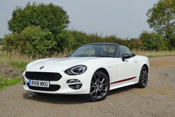 Fiat 124 Spider (16 on) - rated 4.3 out of 5