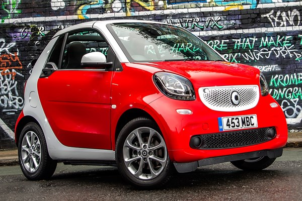 smart fortwo cabriolet from 2016 used prices parkers. Black Bedroom Furniture Sets. Home Design Ideas