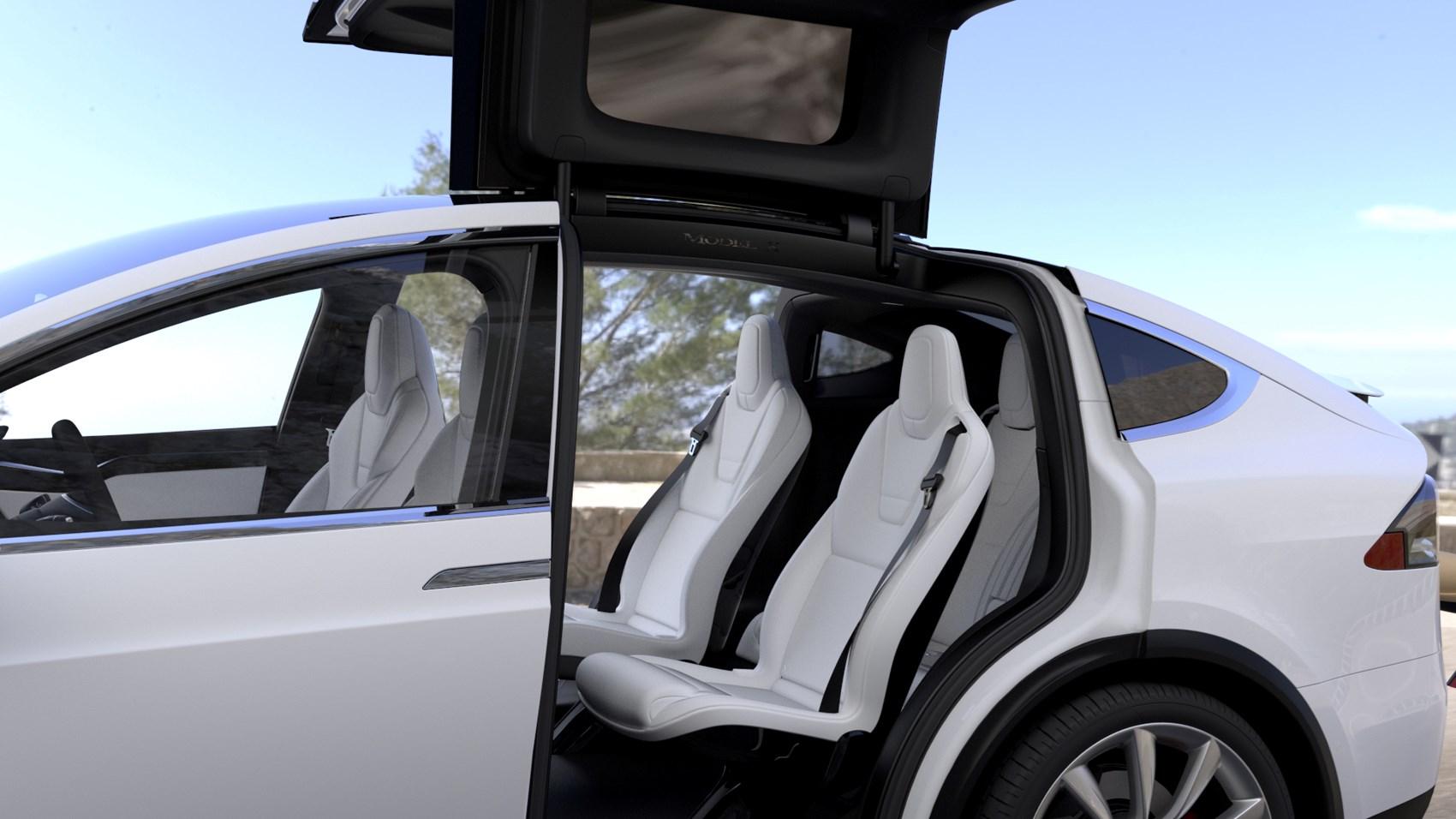 2016 tesla model x small electric suv price range -  Tesla 2017 Model X Suv Interior Detail