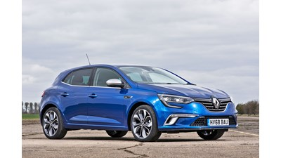 Renault Megane Hatchback Play Blue dCi 115 5d