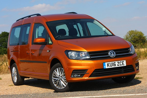 volkswagen caddy maxi life estate review 2015 parkers. Black Bedroom Furniture Sets. Home Design Ideas