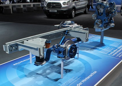 Smoothly does it: new six-speed auto and rear air suspension