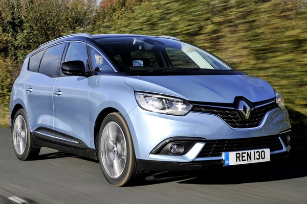 renault grand scenic estate from 2016 used prices parkers. Black Bedroom Furniture Sets. Home Design Ideas