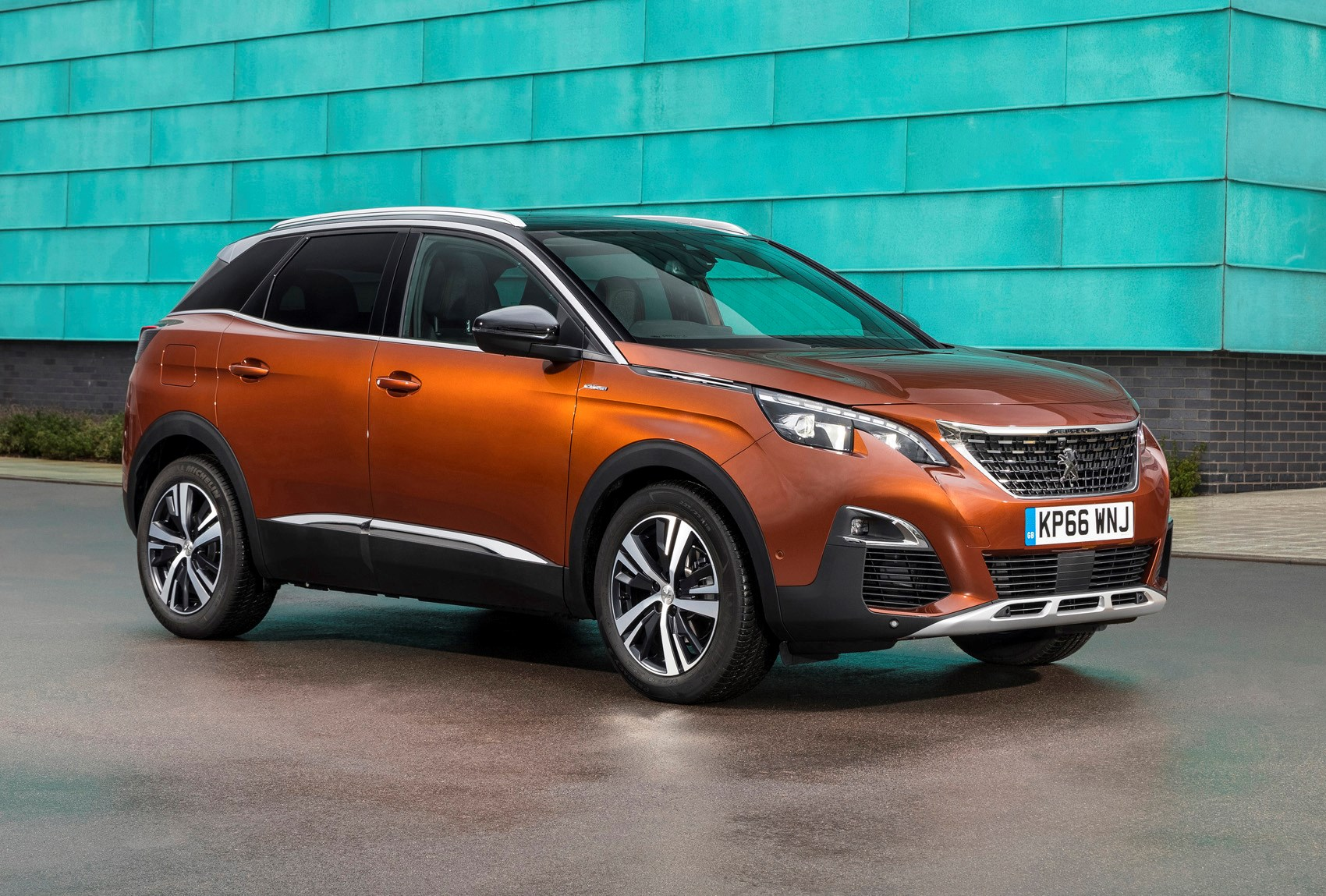 peugeot 3008 suv 2016 photos parkers