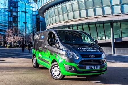 Ford Transit Custom Plug In Hybrid Phev Driving Range