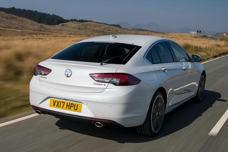 2017 Vauxhall Insignia Grand Sport rear