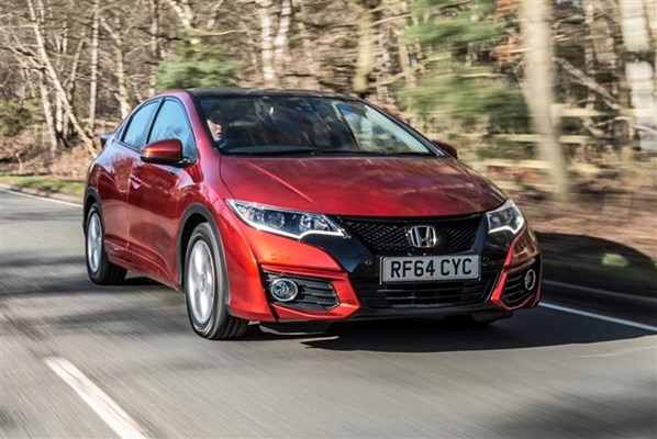 Smaller Turbo Petrol Engines For 2017 Honda Civic Parkers