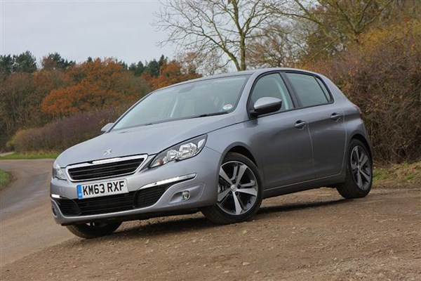 which peugeot 308 is the best company car   parkers