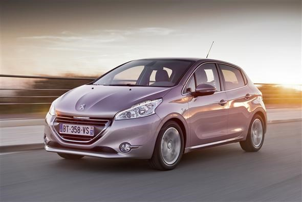 which peugeot 208 makes the best company car?   parkers