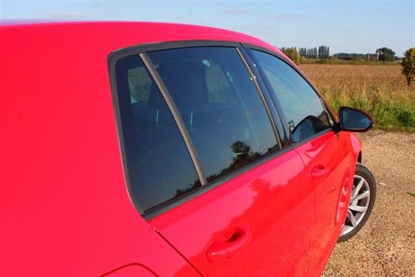 VW Golf Mk7 side view