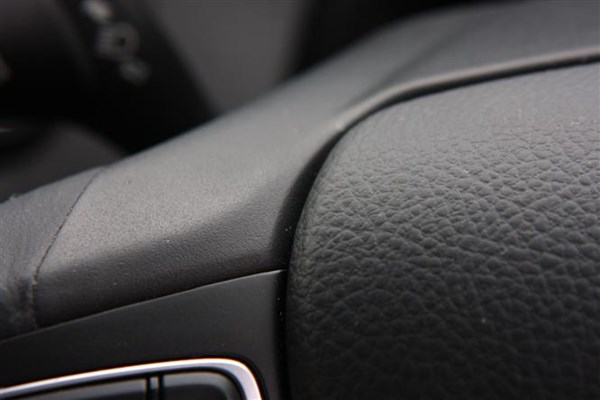 The materials in the cabin of the Ford Focus blend hard-wearing with soft-touch