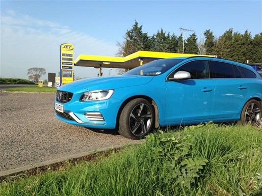 Vovlo V60 is not bad on fuel consumption given the performance of its 2.0-litre diesel engine