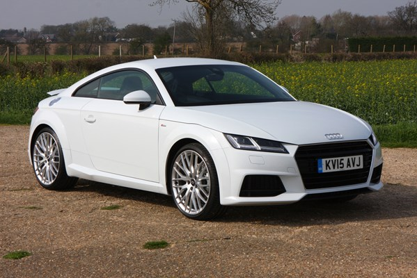 audi tt coup 2 0 tdi ultra s line welcome parkers. Black Bedroom Furniture Sets. Home Design Ideas