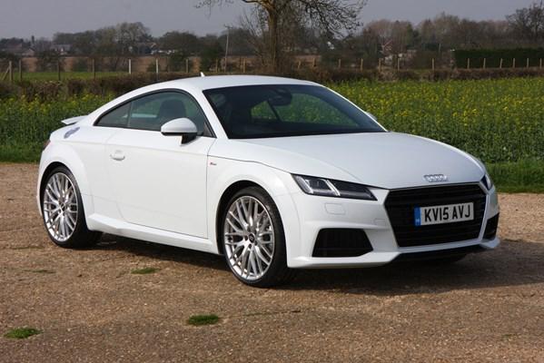 Audi TT Coupé 2.0 TDI Ultra S Line : Welcome | Parkers