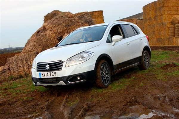 S-Cross proves mighty off-road