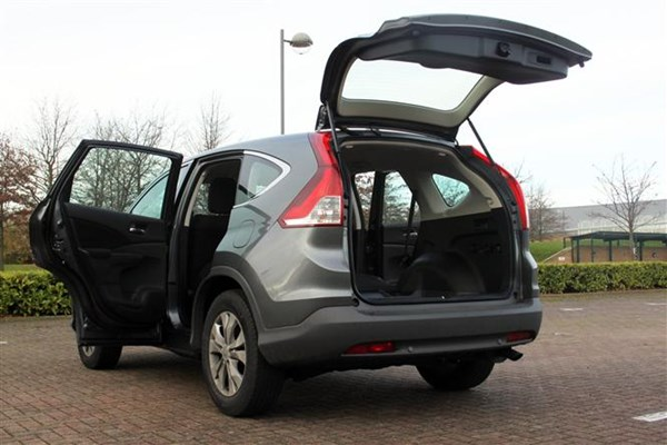 Our Honda CR-V is a seriously practical car