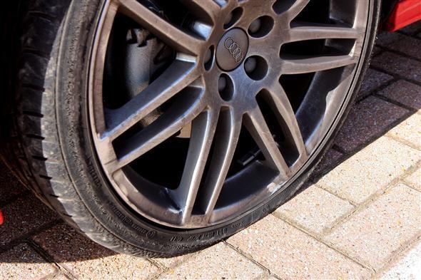 Audi run flat tires