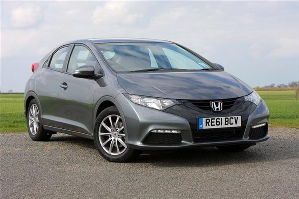 Honda Civic hatchback, grey