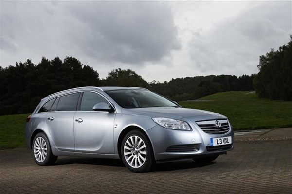 The Vauxhall Insignia Sports Tourer - family cars for cheap car tax