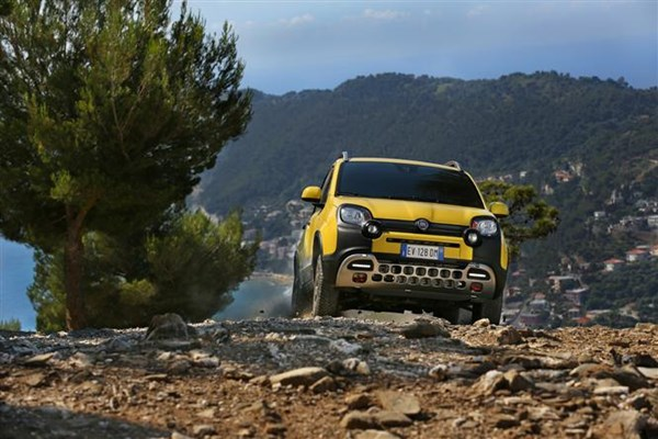 Fiat Panda Cross small 4x4