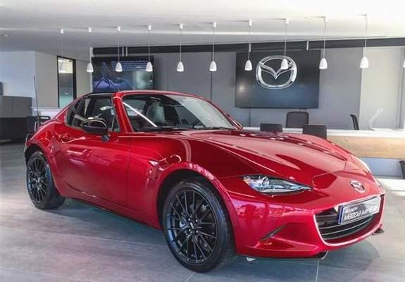 Hard Top Mazda Mx 5 Rf Debuts In The Uk