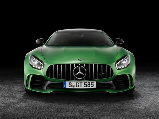 Mercedes AMG GT R front