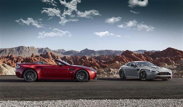 The Aston Martin Vantage S Roadster is available in over 30 colours