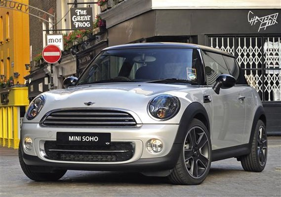 Mini Releases Soho Special Edition Parkers