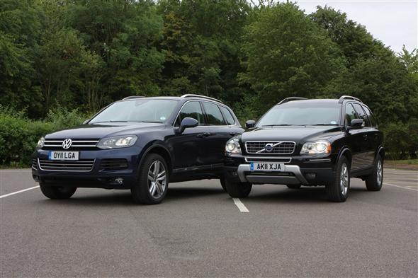 Volvo Xc90 Vs Vw Touareg Parkers