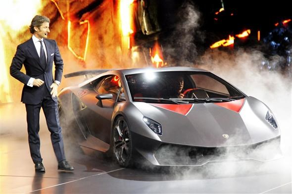 Lamborghini Sesto Elemento Parkers