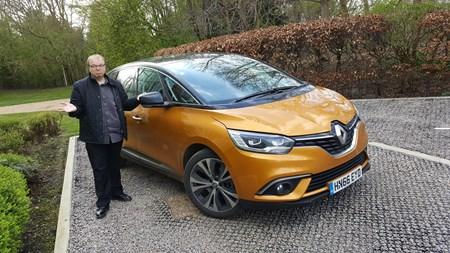 Renault Scenic (16 on) Dynamique S Nav dCi 110 Long-term test   Parkers