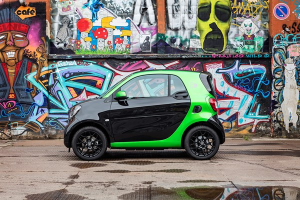 New Smart Fortwo Electric Drive launched