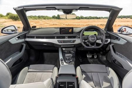 audi a5 cabriolet review (2017 - ) | parkers