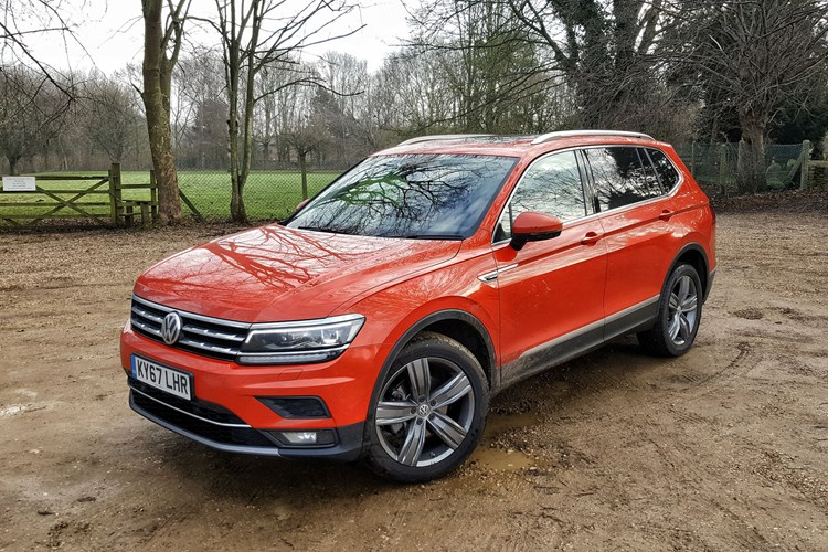 Vw tiguan allspace review buying and selling parkers driven volkswagen tiguan allspace sel 20 tdi scr 4motion 150ps fandeluxe Gallery