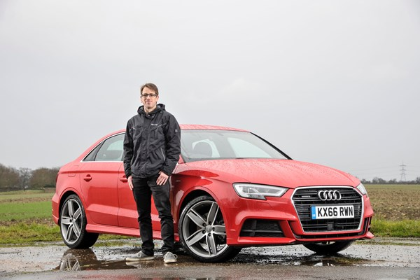 Audi A3 Heart Says S3 Saloon Head 1 5 Tfsi