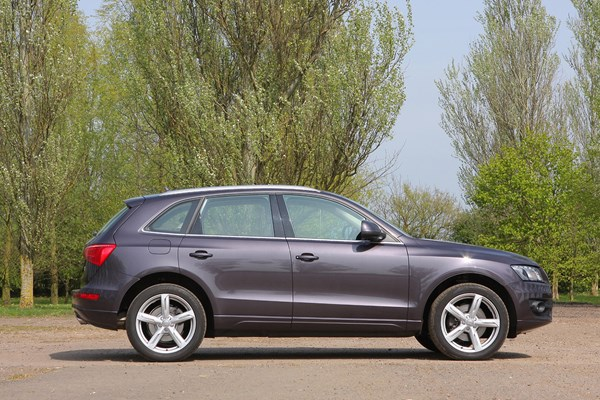 Audi Q5 - best 4x4s for winter driving