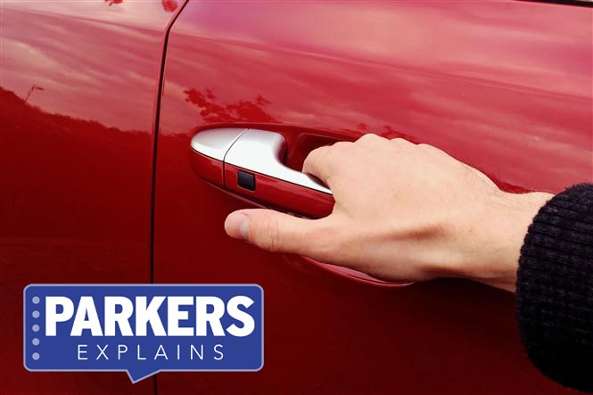 What is keyless entry?   Parkers