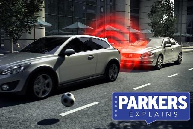 What is autonomous emergency braking (AEB)?   Parkers