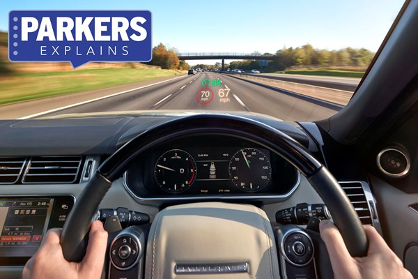 Land Rover head-up display