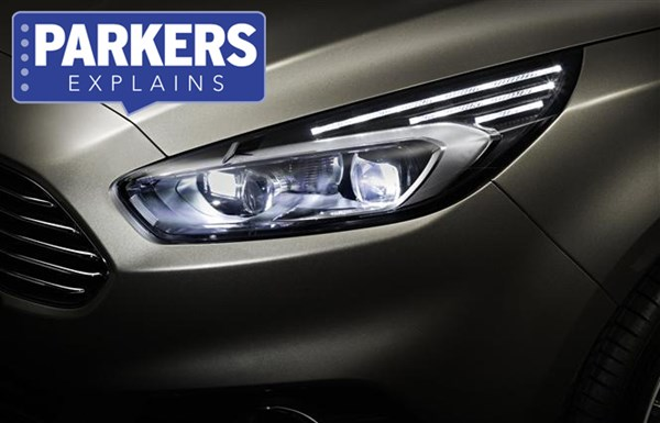 Ford S-Max high-beam assist