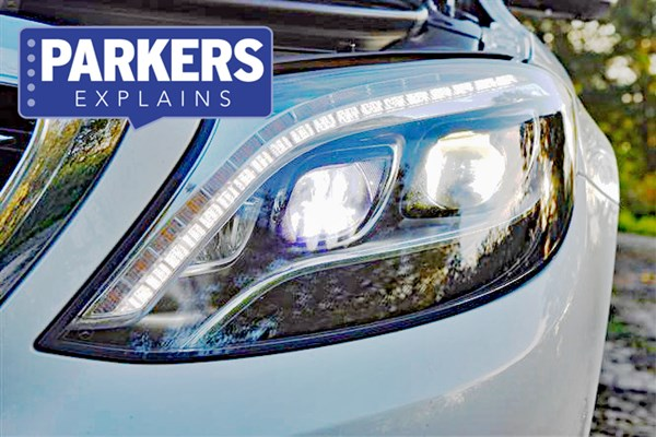 What Is Led Headlamp Technology Parkers