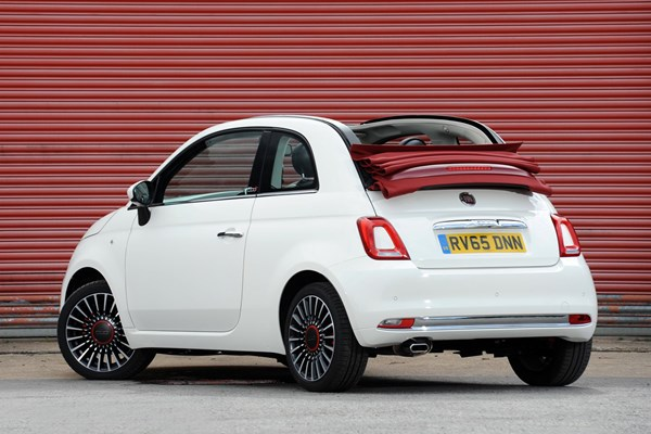 Fiat 500C - best convertible cars