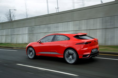 Jaguar Promises That The Battery Ed I Paces You Ll Be Able To Have On A Company Car Scheme Will Look Incredibly Close This Bright And It Is Very