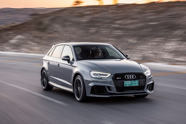 Road Test Audi Rs3 Sportback Parkers
