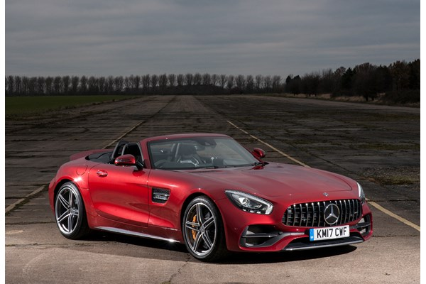 Mercedes benz amg gt roadster from 2017 used prices for Mercedes benz amg gt coupe price