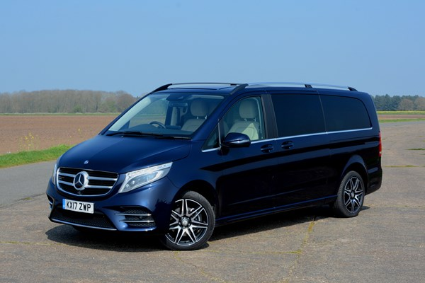 mercedes benz v 250 d long term review parkers. Black Bedroom Furniture Sets. Home Design Ideas