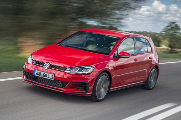 VW Golf GTI Performance 2017, red, front