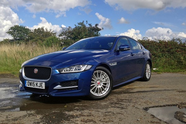 Company car drivers: want the best value Jaguar XE to tax? You need a petrol